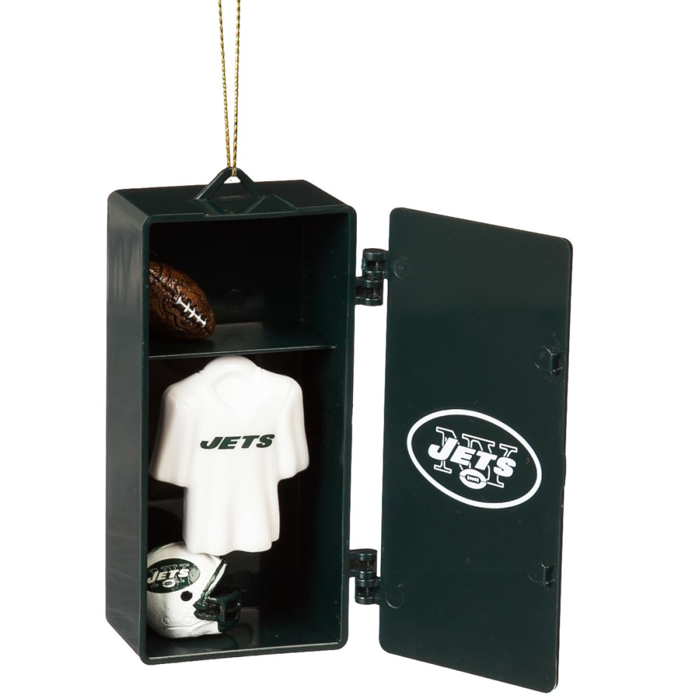 NEW YORK JETS Locker Room Ornament - GREEN