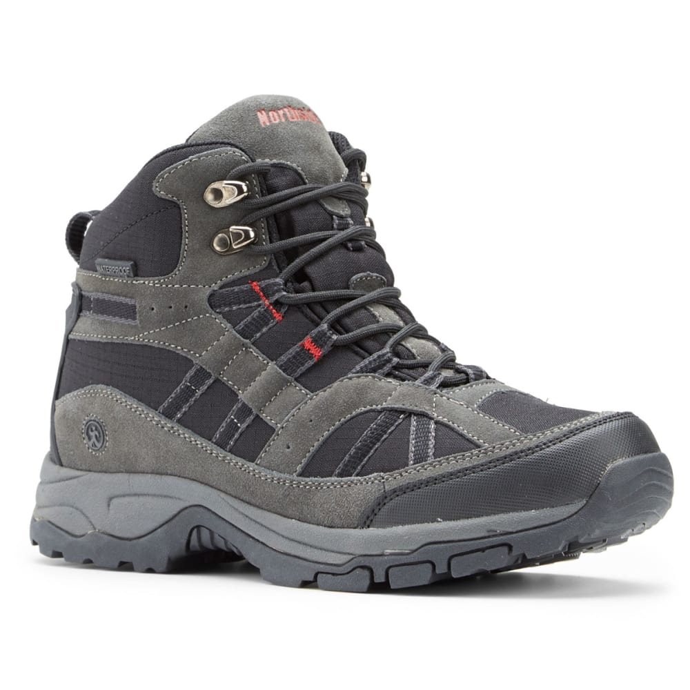 NORTHSIDE Men's Rampart Hiking Boots - BLACK