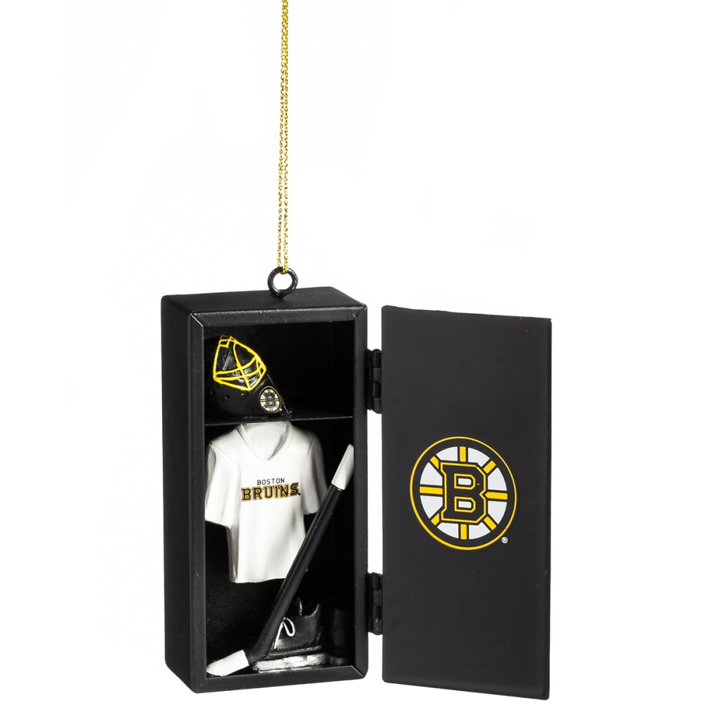 BOSTON BRUINS Locker Room Ornament - BLACK
