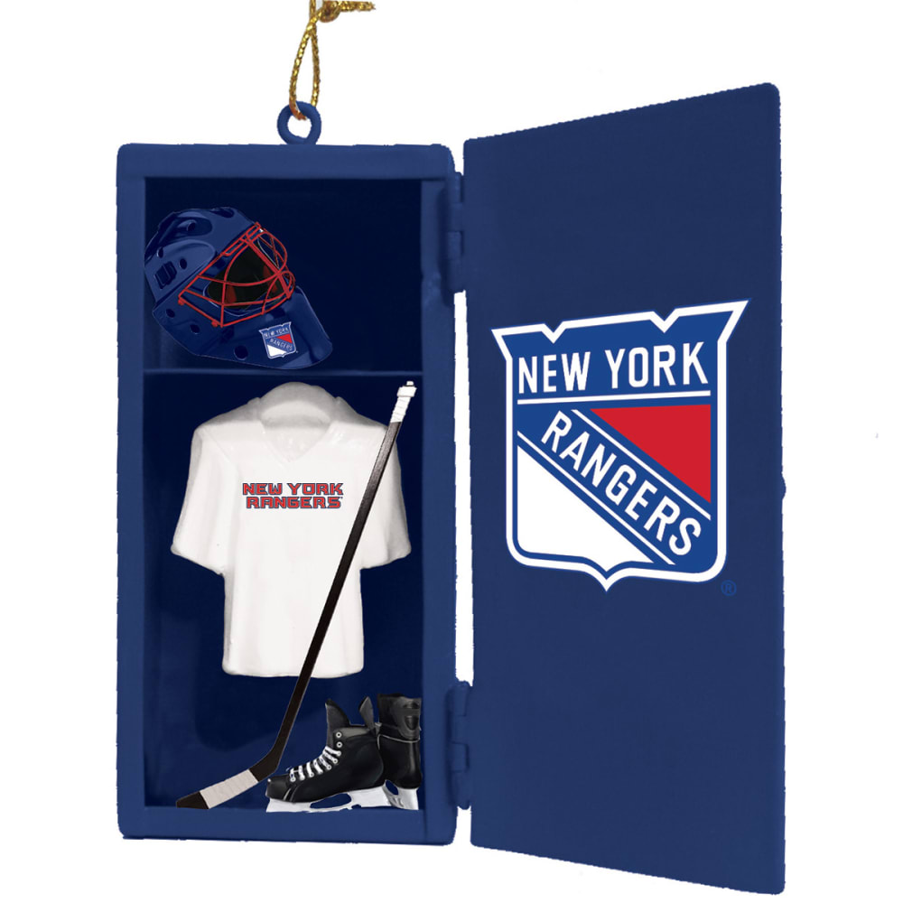 NEW YORK RANGERS Locker Room Ornament - ROYAL BLUE