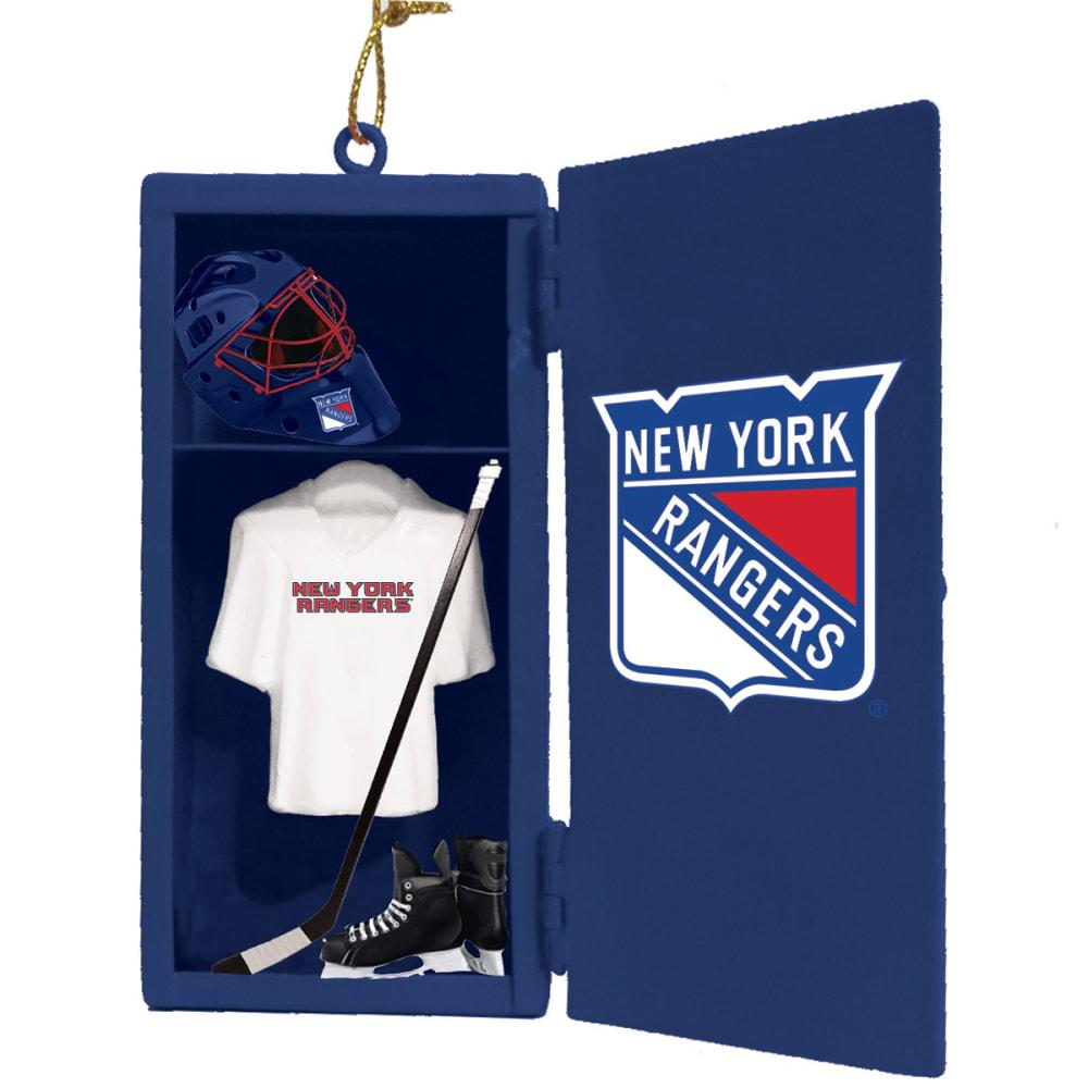 NEW YORK RANGERS Locker Room Ornament - ROYAL BLUE