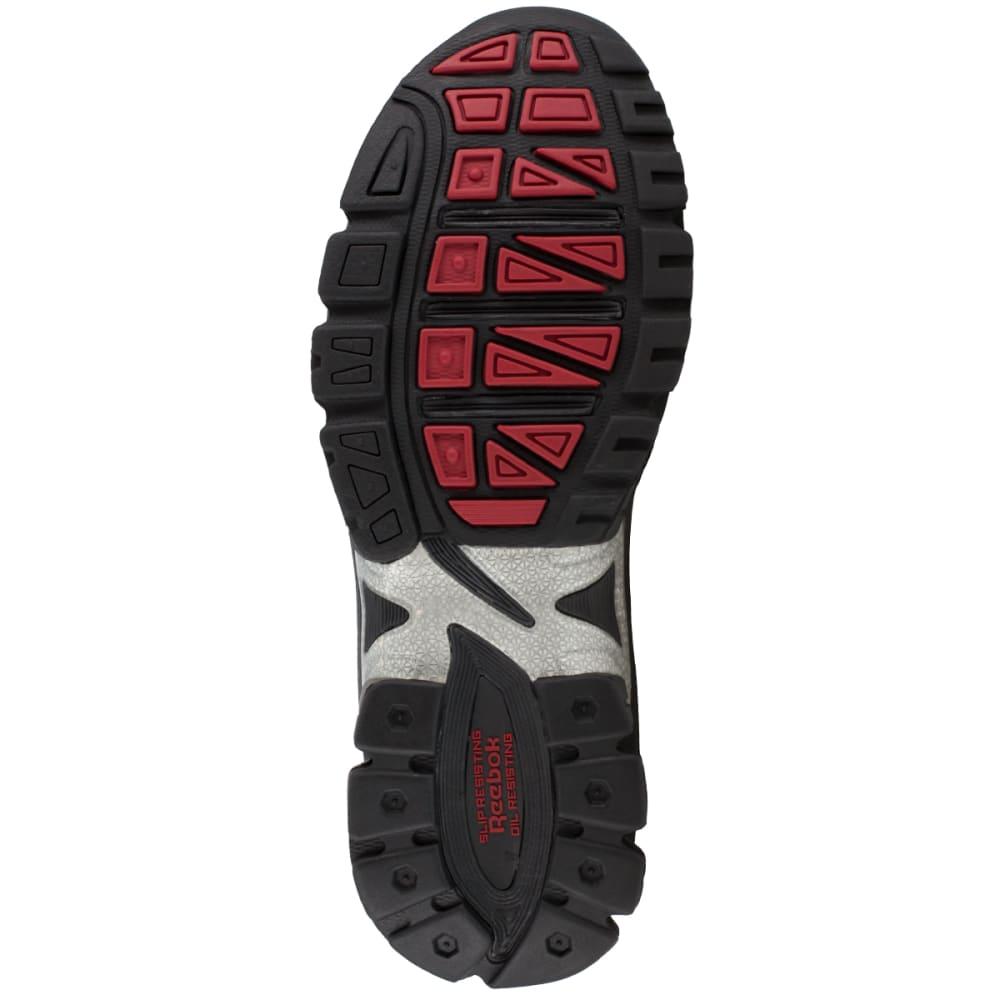 REEBOK WORK Men's Ketia Composite Toe Cross Trainer Shoes, Black/ Silver, Medium Width - BLACK/SILVER