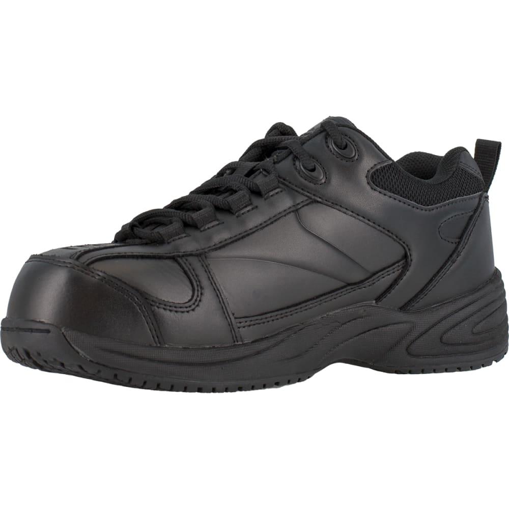 REEBOK WORK Men's Jorie Shoes, Wide - BLACK