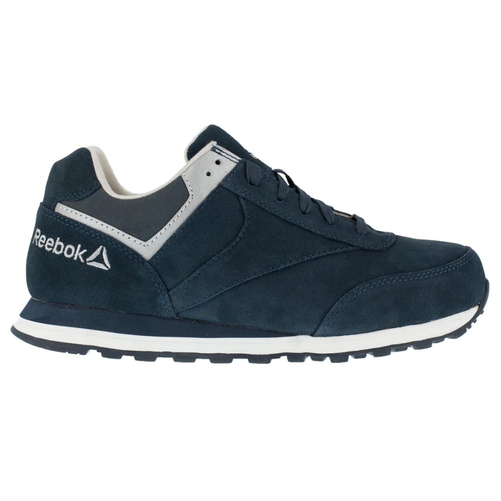 REEBOK WORK Men's Leelap Shoes, Wide - NAVY