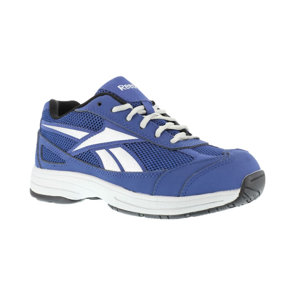 REEBOK WORK Men's Ketee Shoes - BLUE/SILVER GRY TRIM
