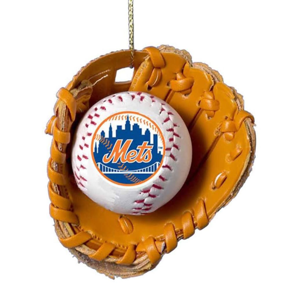 NEW YORK METS Glove Ball Ornament - MULTI