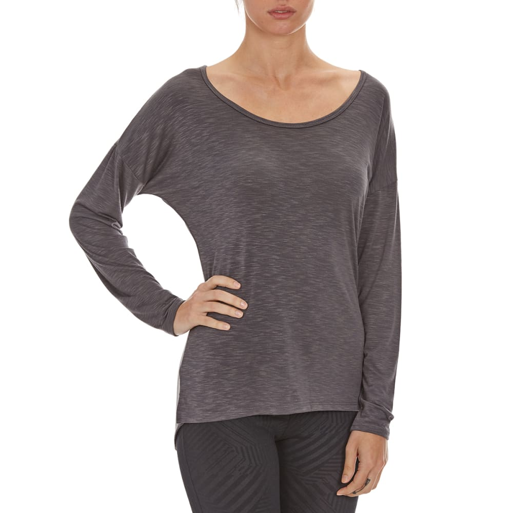 MARIKA Women's Sparrow Long-Sleeve Tee - HTHR CHRCL 648