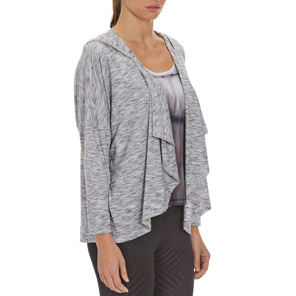 MARIKA Women's Wendy Wrap Front Cardigan - HTHR WHTE 528