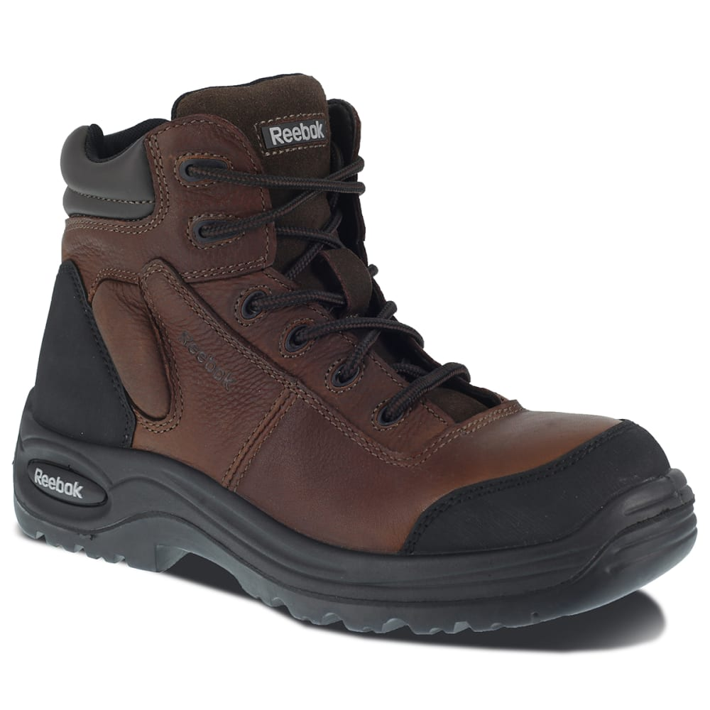 "REEBOK WORK Men's Trainex Composite Toe 6"" Work Boots, Medium Width 15"