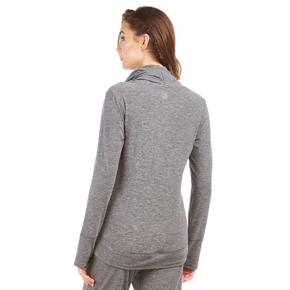 MARIKA Women's Cozy Cowl Pullover - HTHR GRY 626