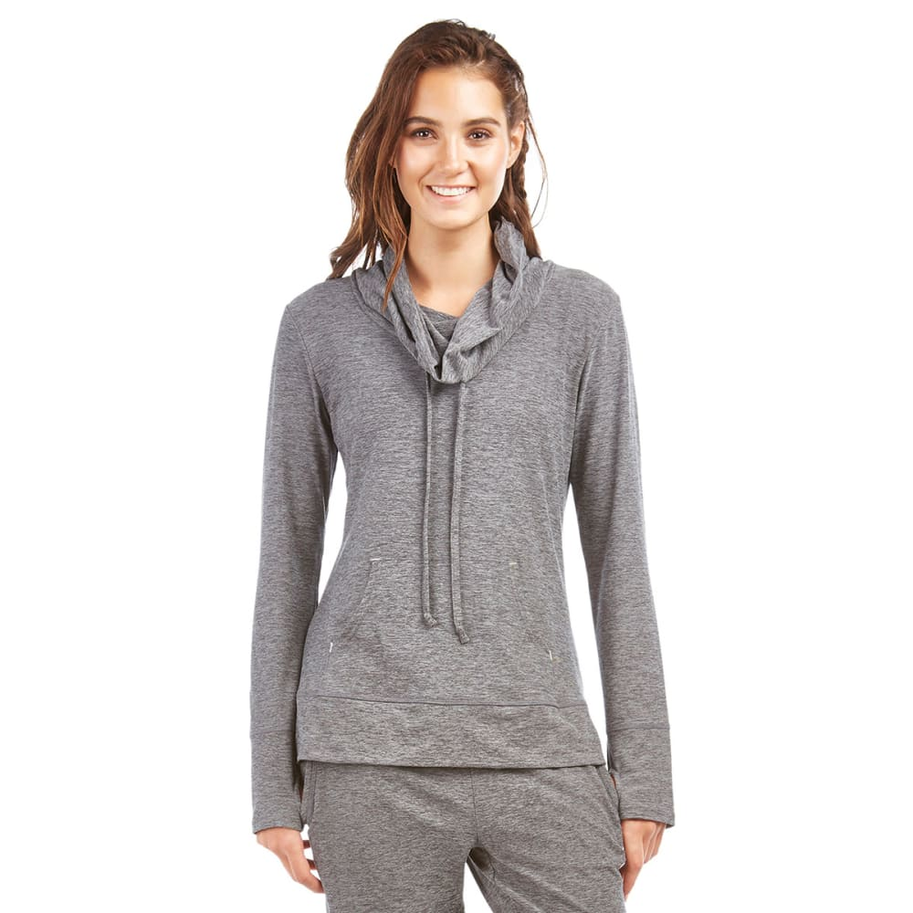 MARIKA Women's Cozy Cowl Pullover - HTHR GRY 626