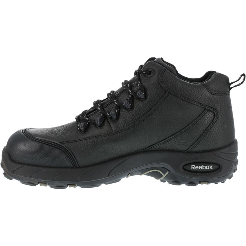 REEBOK WORK Men's Tiahawk Hiker Boots, Wide - BLACK