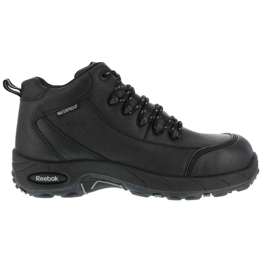 REEBOK WORK Men's Tiahawk Hiker Boots, Extra Wide - BLACK