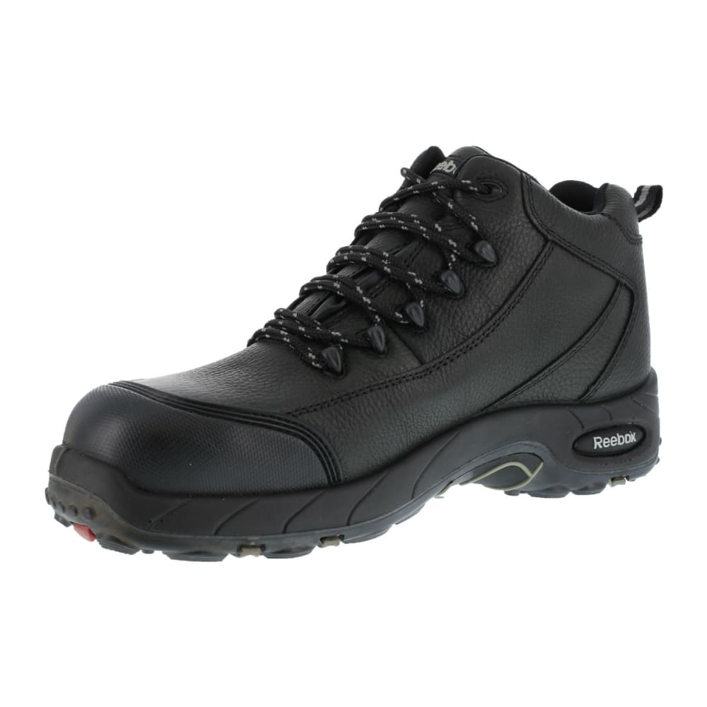 REEBOK WORK Men's Tiahawk Hiker Boots, Extra Wide - BLACK