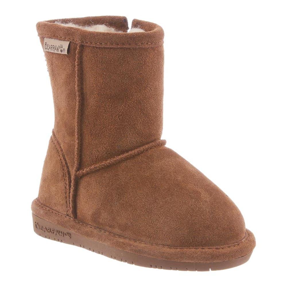 BEARPAW Toddler Girls' Emma Zipper Boots 9