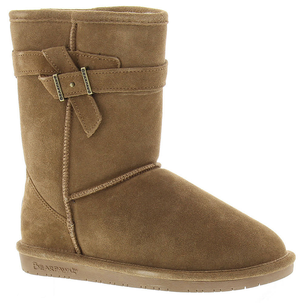 BEARPAW Girls' Val Boots - HICKORY