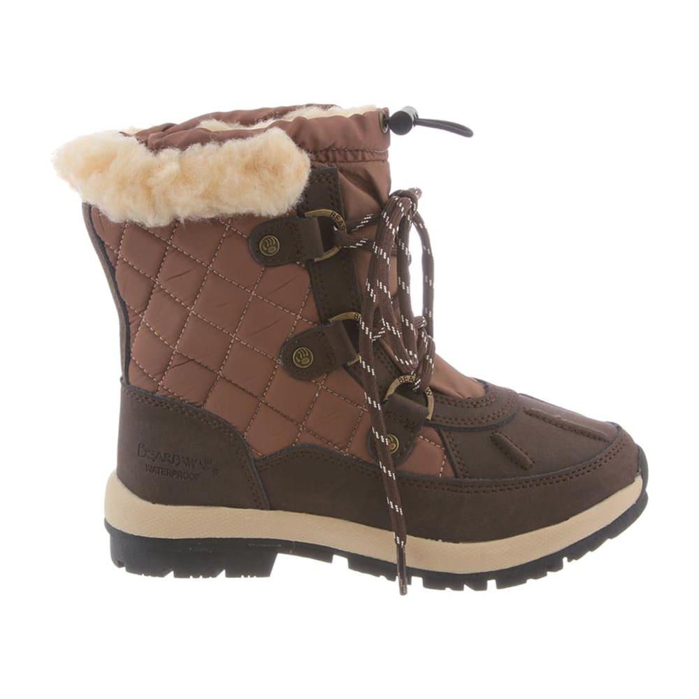BEARPAW Girls' Bethany Boots - CHOCOLATE