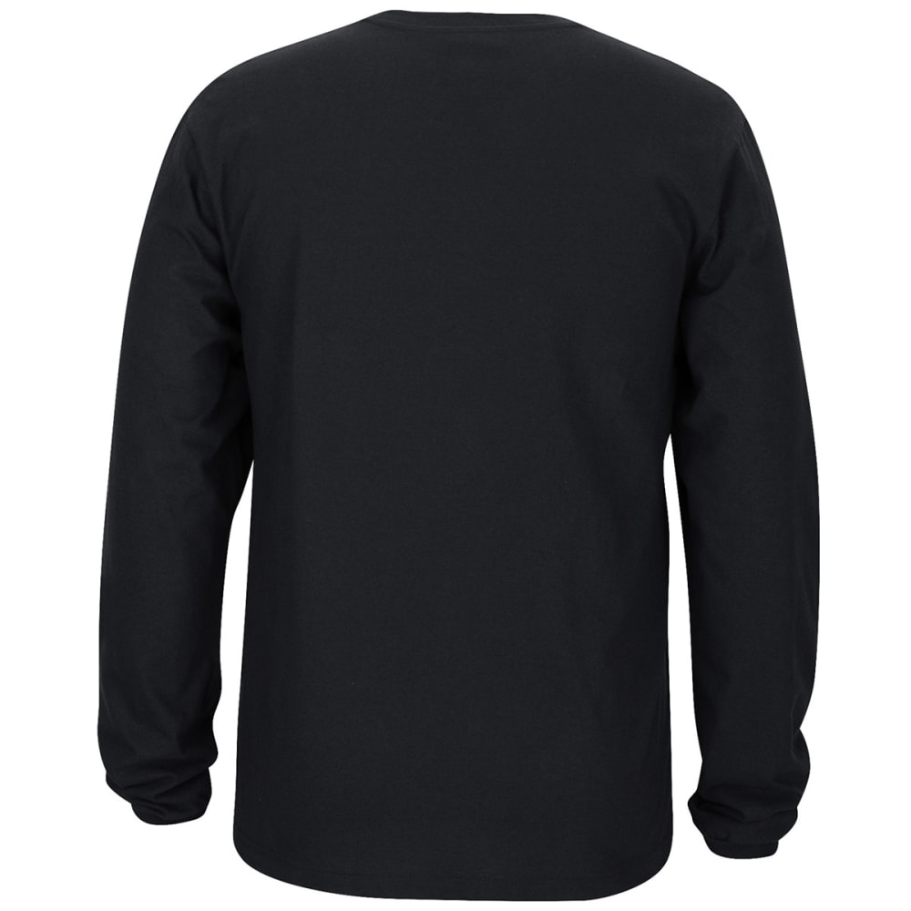 ADIDAS Men's Boston Celtics Icon Status Long-Sleeve Tee - BLACK
