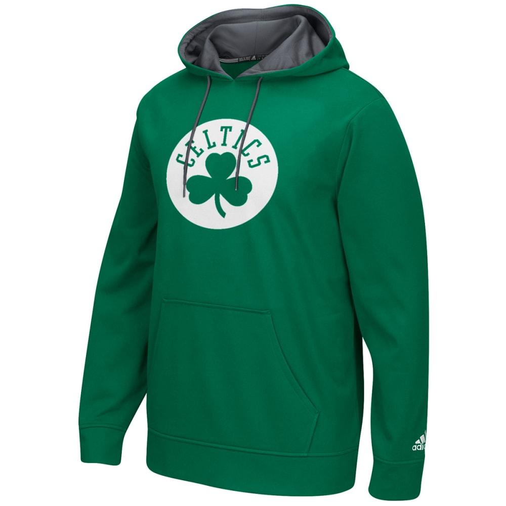 ADIDAS Men's Boston Celtics Tip-Off Pullover Hoodie - KELLY