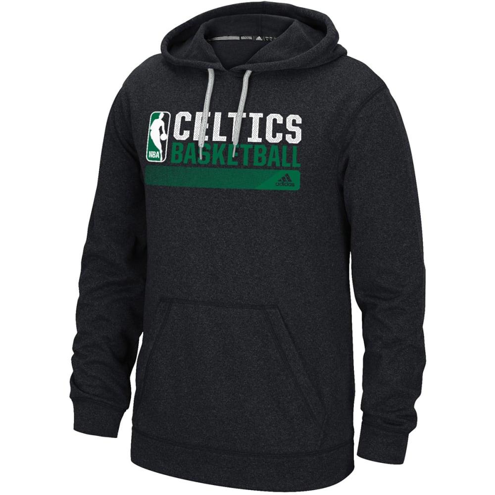 ADIDAS Men's Boston Celtics Icon Status Hoodie - BLACK