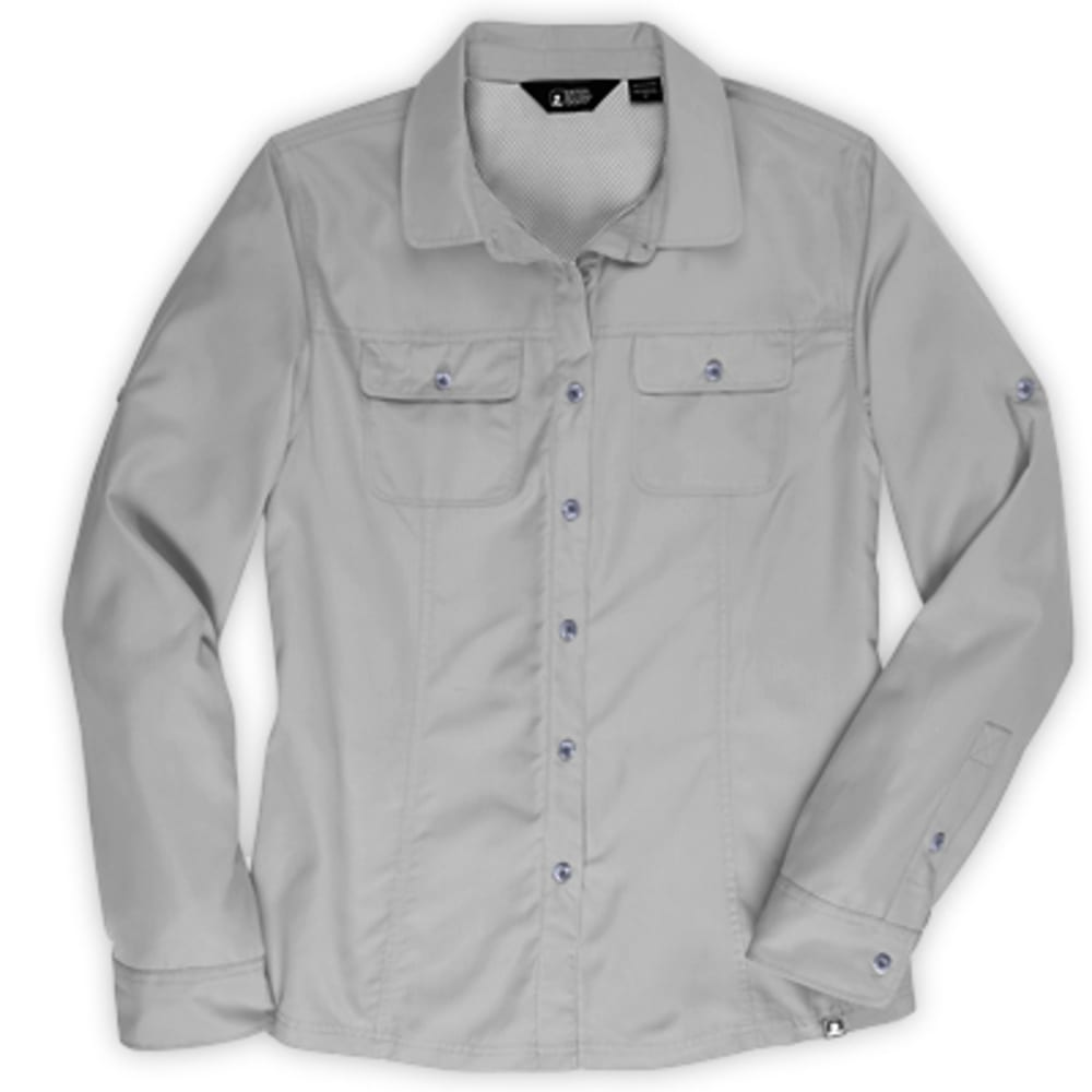 EMS Women's Compass UPF Long-Sleeve Shirt - NEUTRAL GREY