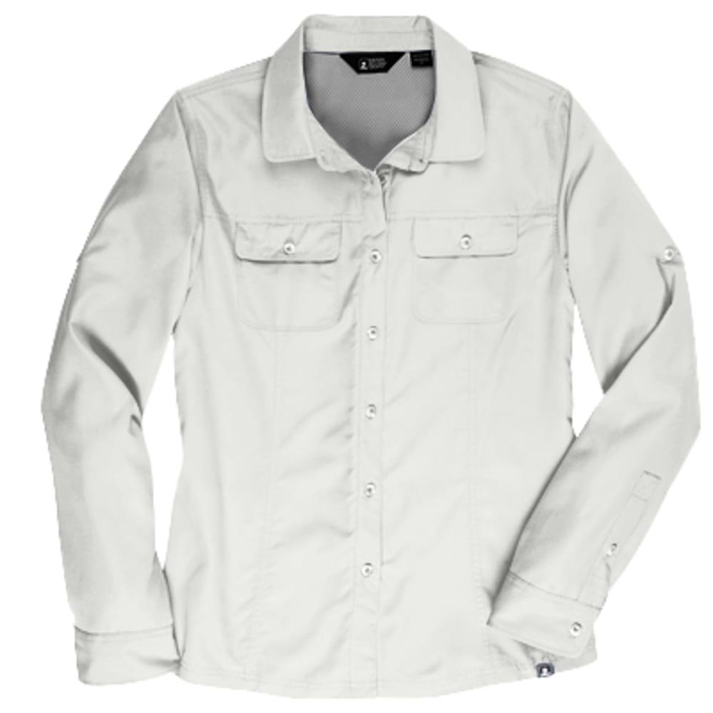 EMS Women's Compass UPF Long-Sleeve Shirt - SNOW WHITE
