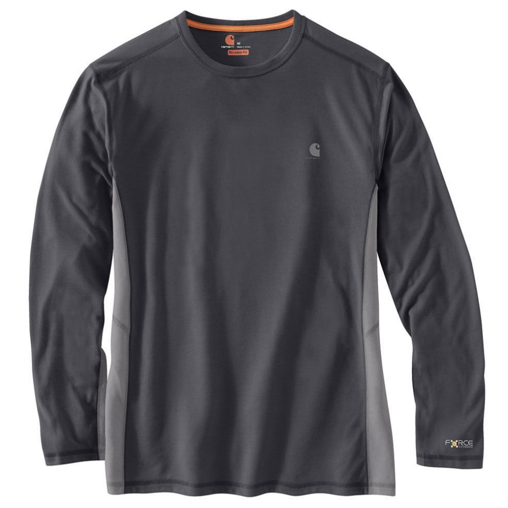 Carhartt Men's Force Extremes Long-Sleeve Tee - Black, XL