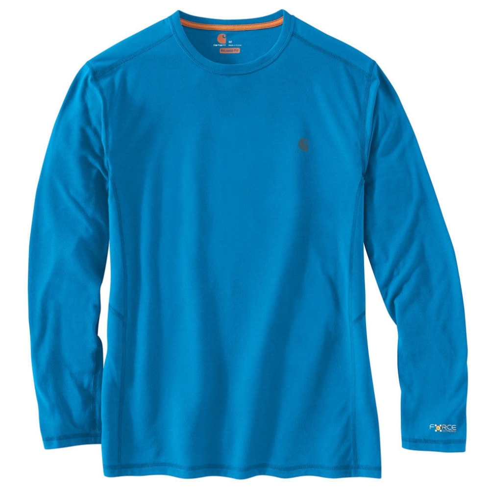CARHARTT Men's Force Extremes Long-Sleeve Tee - 427 DYNAMIC BLUE
