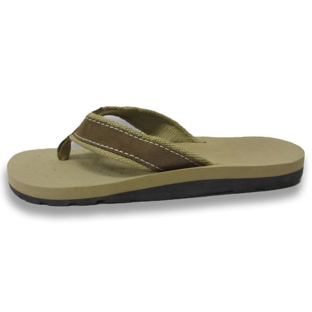 HANG TEN Men's Avalon Flip Flops - TAN