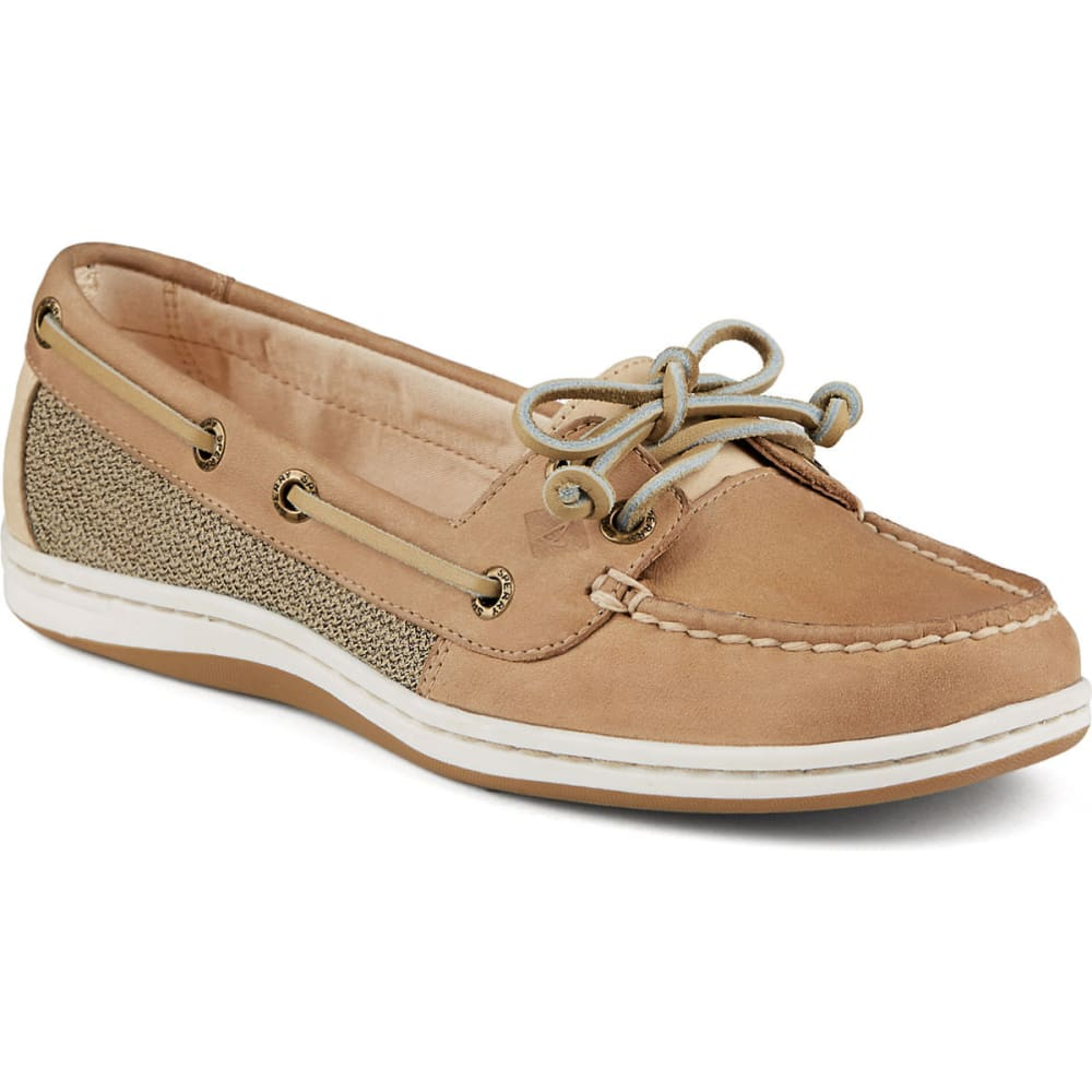 SPERRY Women's Firefish Boat Shoes - LINEN/OAT