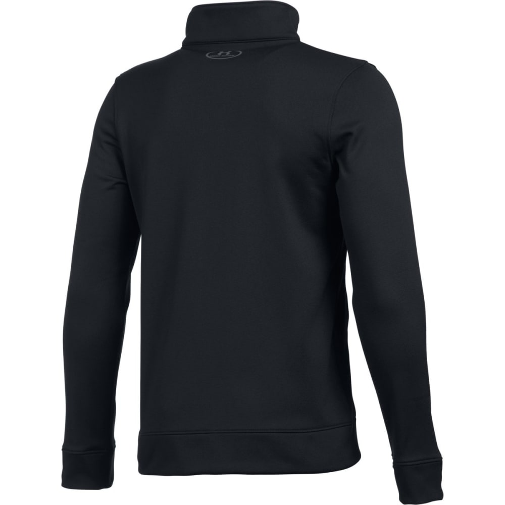UNDER ARMOUR Boys' Pennant Warm Up Jacket - BLACK/GRAPHITE 001