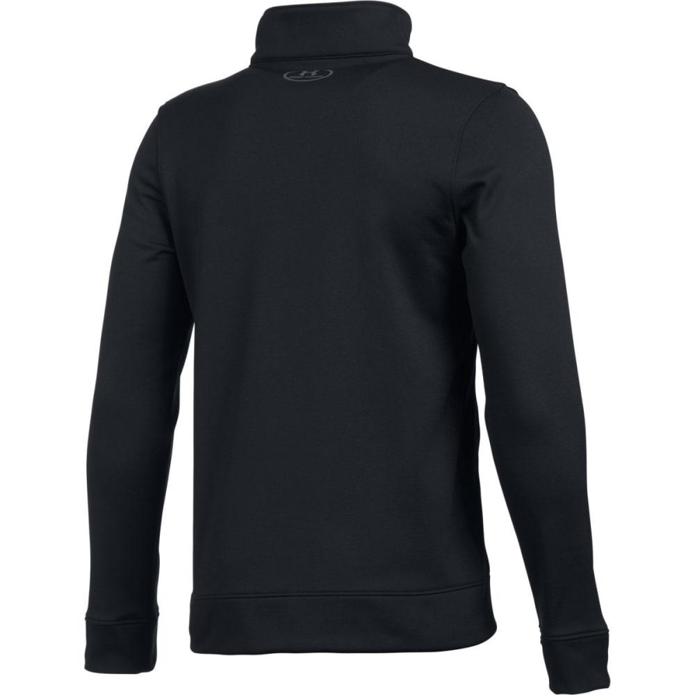 UNDER ARMOUR Boys' Pennant Warm Up Jacket - BLACK/GRAPHITE 001
