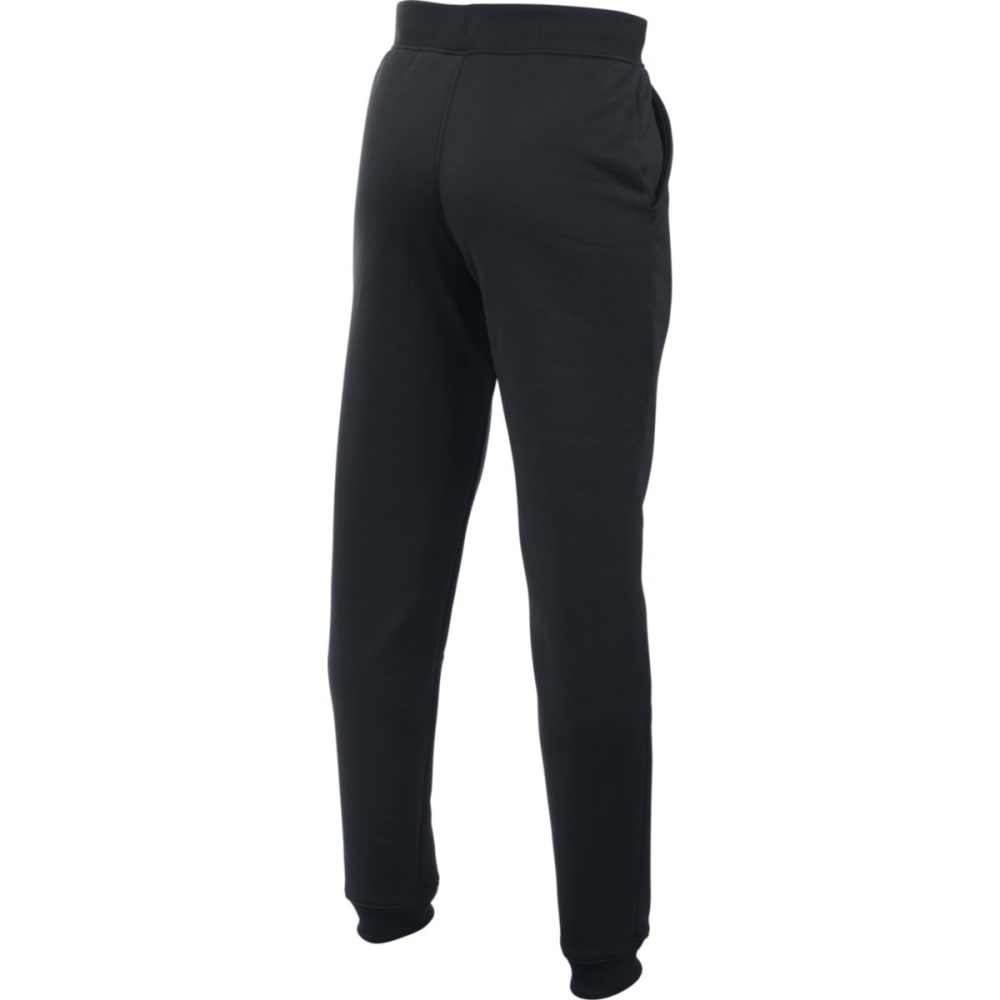 UNDER ARMOUR Boys' Storm Armour Fleece Jogger Pants - BLACK/GRAPHITE 001