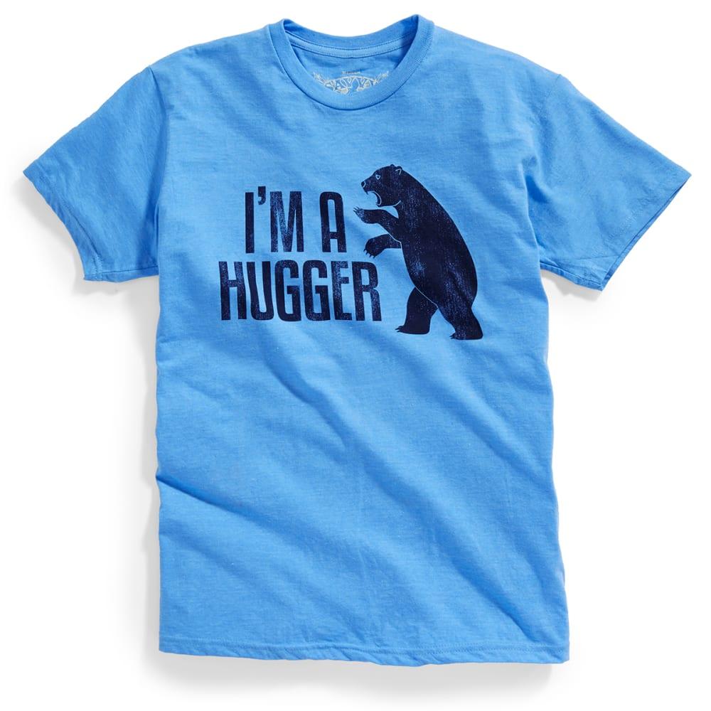D55 Guys' I'm a Hugger Tee - BLUE