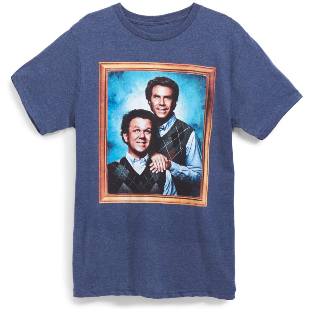 D55 Guys Framed Step Brothers Tee - Blue, M