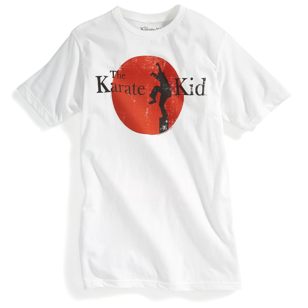 D55 Guys' Karate Kid Short-Sleeve Tee - WHITE