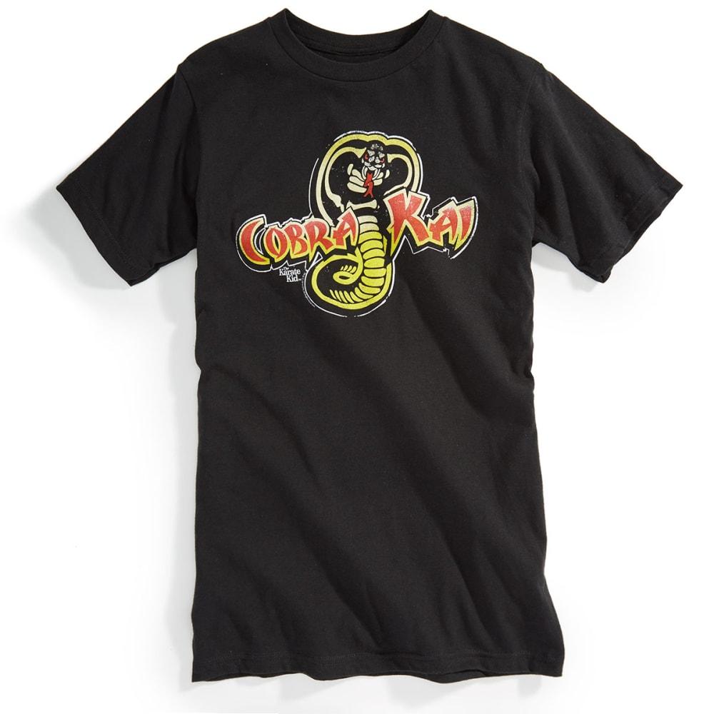 D55 Guys' Cobra Kai Karate Kid Short-Sleeve Tee - BLACK