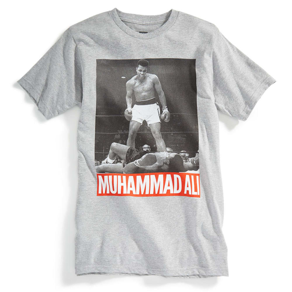 D55 Guys's Muhammad Ali Short-Sleeve Tee - GREY