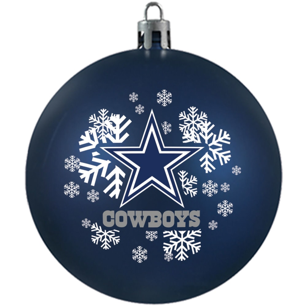 DALLAS COWBOYS Shatterproof Ball Ornament - NAVY