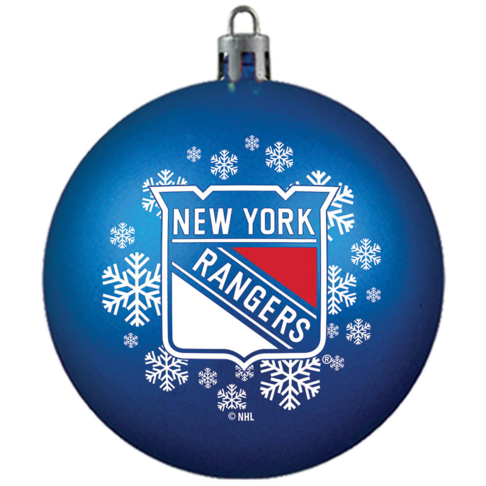 NEW YORK RANGERS Shatterproof Ball Ornament - ROYAL BLUE
