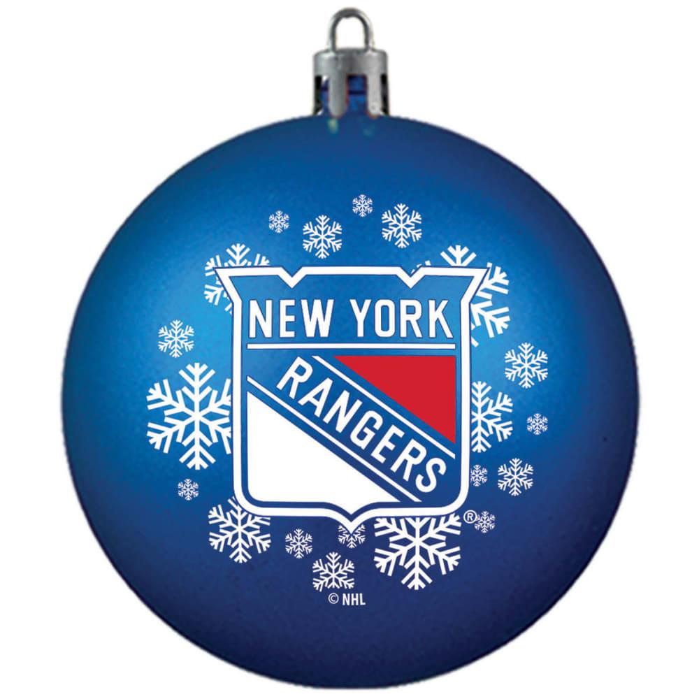 NEW YORK RANGERS Shatterproof Ball Ornament - ROYAL BLUE