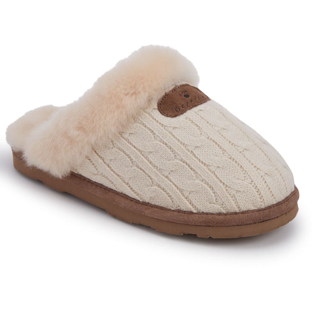 Bearpaw Women's Effie Slippers - Brown, 6
