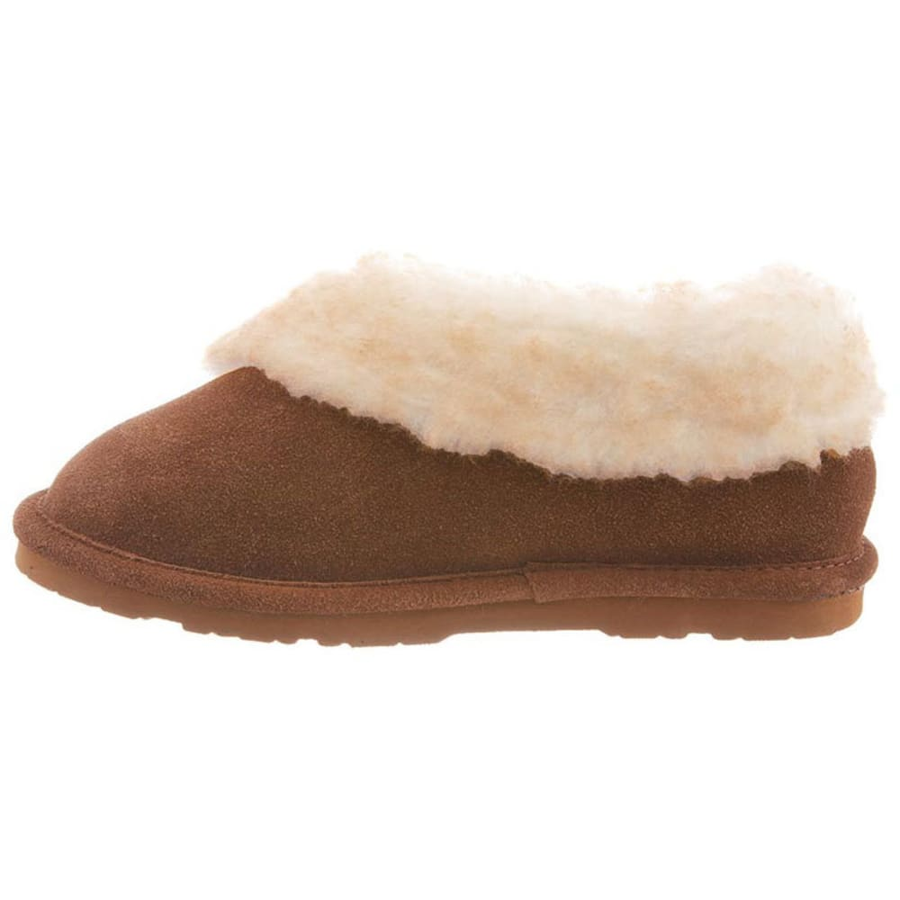 BEARPAW Women's Catelyn Wrap Collar Slippers - HICKORY-220