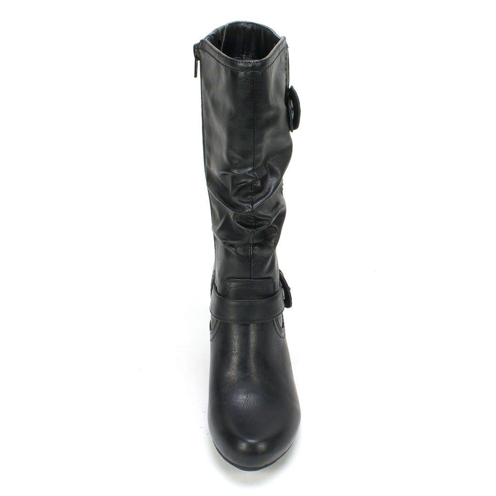 RIALTO Women's Coras Buckle Boots - BLACK