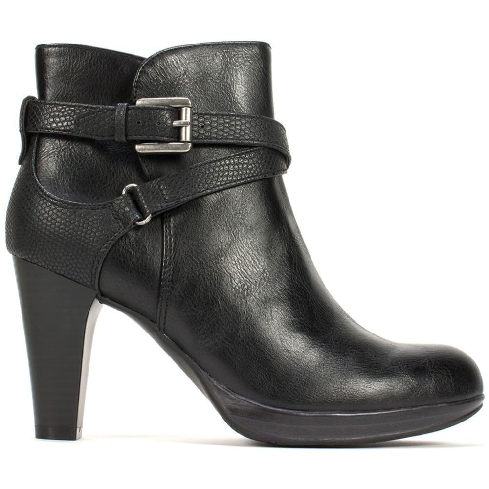 RIALTO Women's Pamela Strappy Heel Boots 9.5