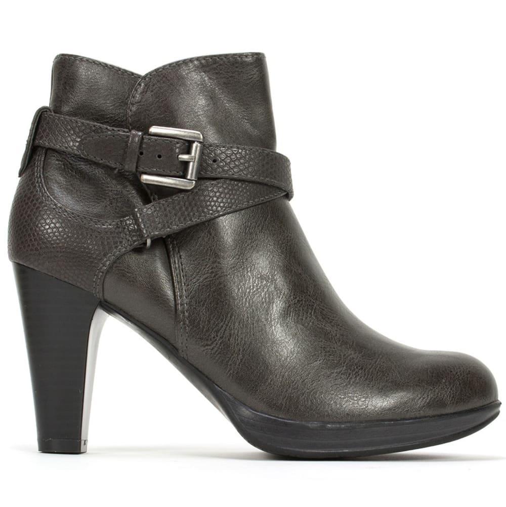 RIALTO Women's Pamela Strappy Heel Boots - ASH