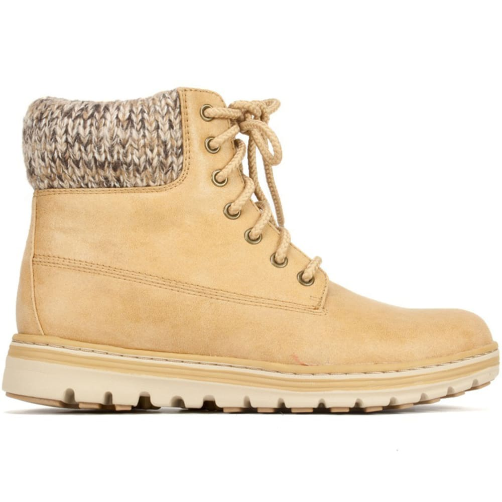 CLIFFS Women's Kudrow Fabric Boots - WHEAT