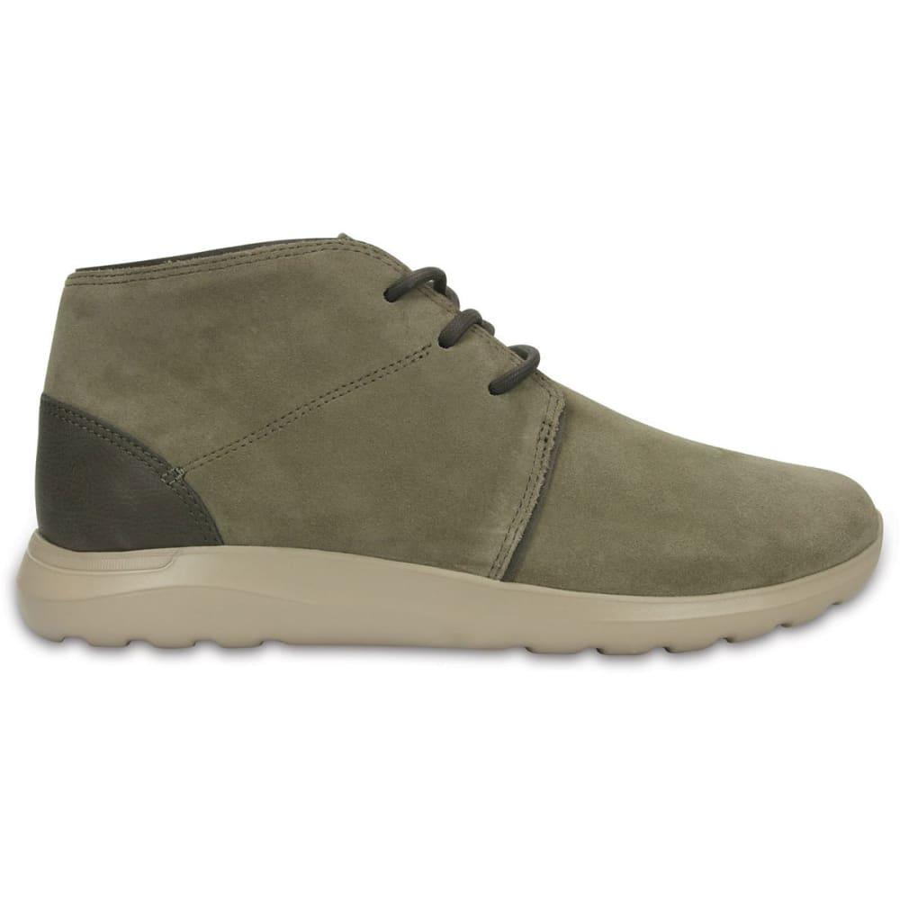 CROCS Men's New Kinsale Chukka Shoes - MUSHROOM/COBBLESTONE