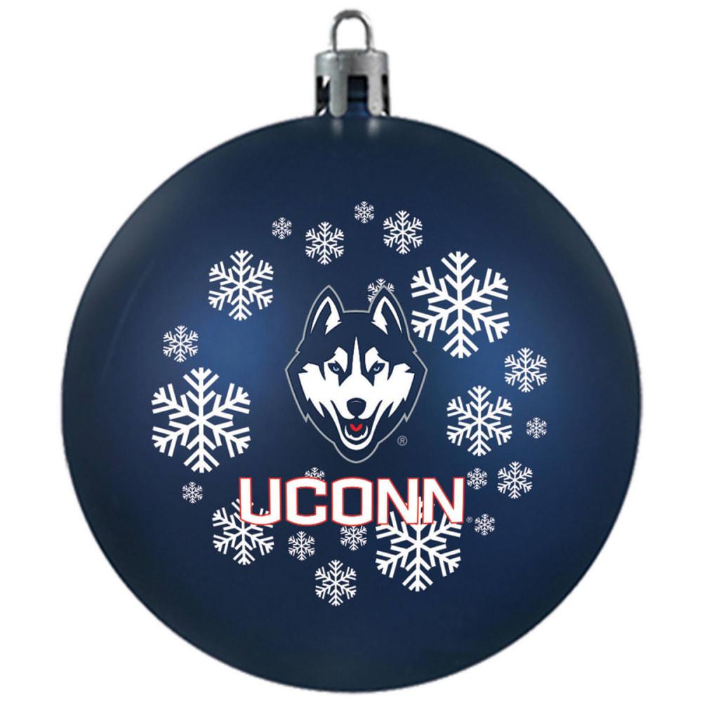 UCONN Shatterproof Ball Ornament - NAVY