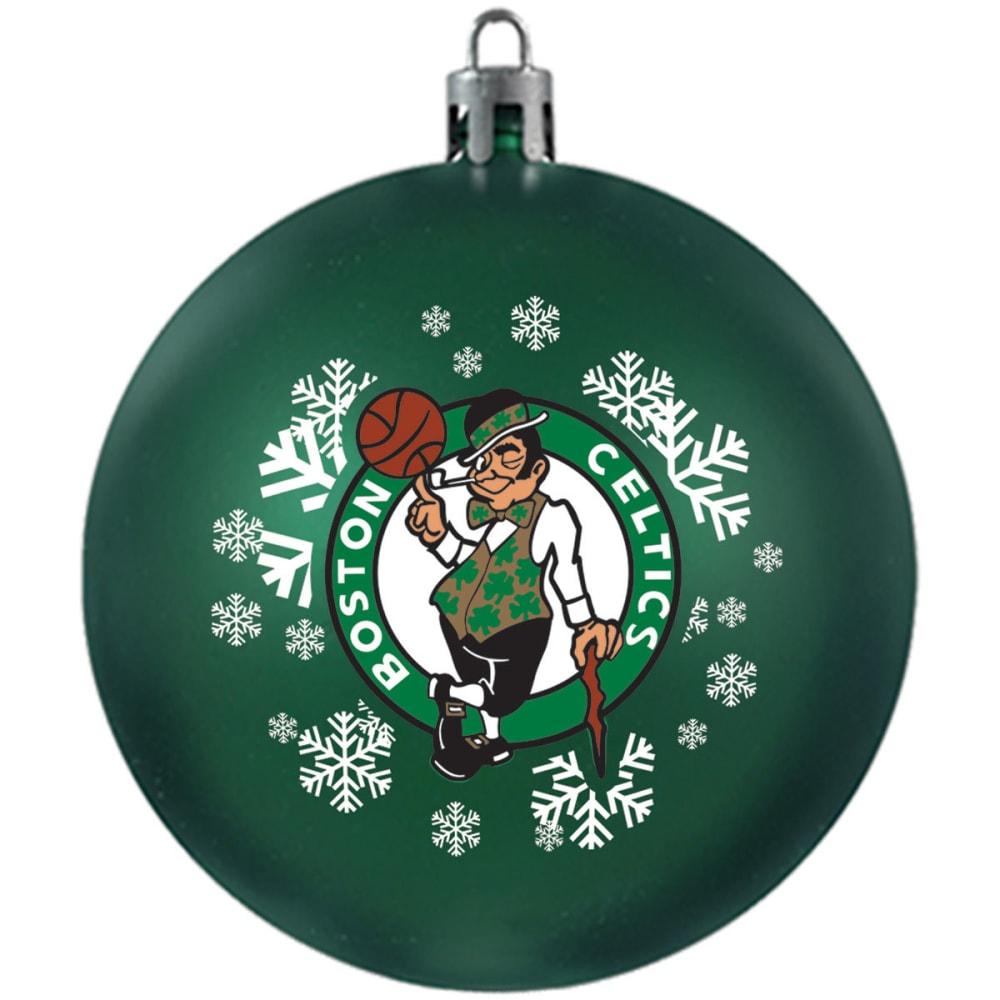 BOSTON CELTICS Shatterproof Ball Ornament - GREEN